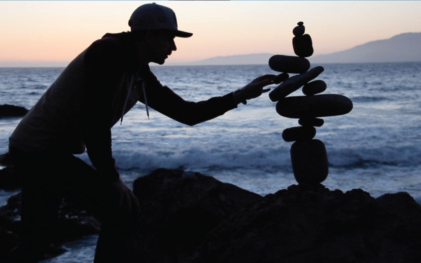 balance through rocks