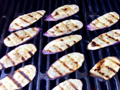 Grill Eggplant & Chinese Medicine