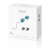 OVO - L1 Love Balls White Blue, Palline vaginali, Ovo- amorita.it