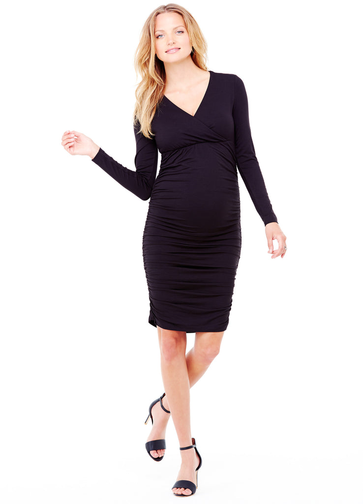 Empire Ruched Dress