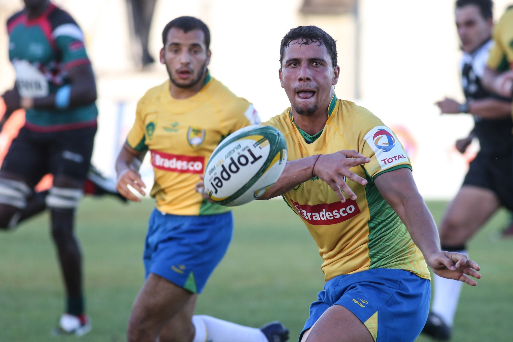 Brazil and Kenya Rugby in Macapa