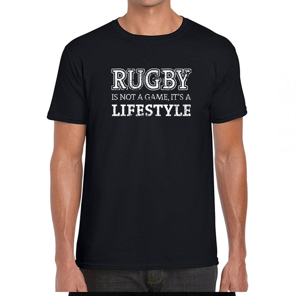 Camiseta Masculina Preta - Not Just A Game