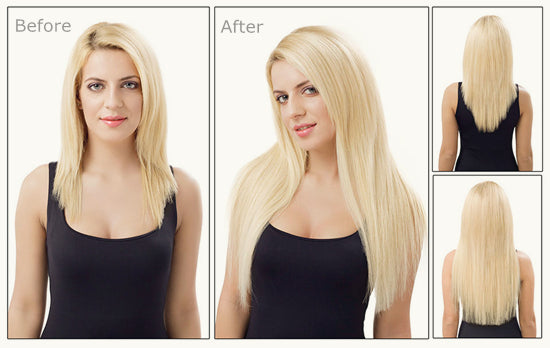 Before and After (Clip in Hair) LETMESHINE