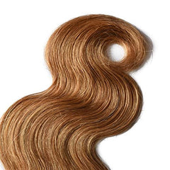 LETMESHINE #27 COLOR HONEY BLOND BODY WAVE HUMAN HAIR WEAVE REMY HAIR - LetMeShine Hair