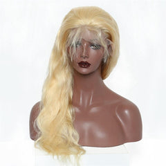 LETMESHINE 360 WIG BODY WAVE #613 COLOR GLUELESS 100% HUMAN HAIR WIG - LetMeShine Hair