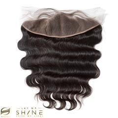 LETMESHINE BODY WAVE HAIR WEAVE NATURAL COLOR 3 BUNDLES WITH 13*4 FRONTAL LACE CLOSURE 100% VIRGIN HUMAN HAIR - LetMeShine Hair