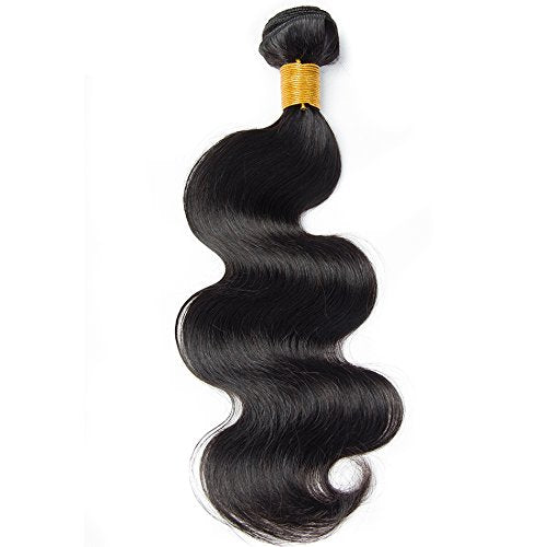 LETMESHINE Brazilian Body Wave Hair Weave Human Hair 1 Bundle Natural Color Remy Hair 10-26 Inch Free Shiping - LetMeShine Hair