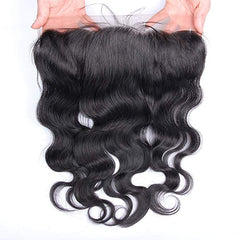 LETMESHINE Natural Color Body Wave 13*4 or 13*6 Lace Frontal Three Part Middle Part And Free Part 100% Virgin Human Hair - LetMeShine Hair
