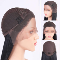 LETMESHINE FRONTAL LACE WIG BODY WAVE NATURAL COLOR GLUELESS 100% HUMAN HAIR WIG LACE FRONT 13*4 OR 13*6 - LetMeShine Hair