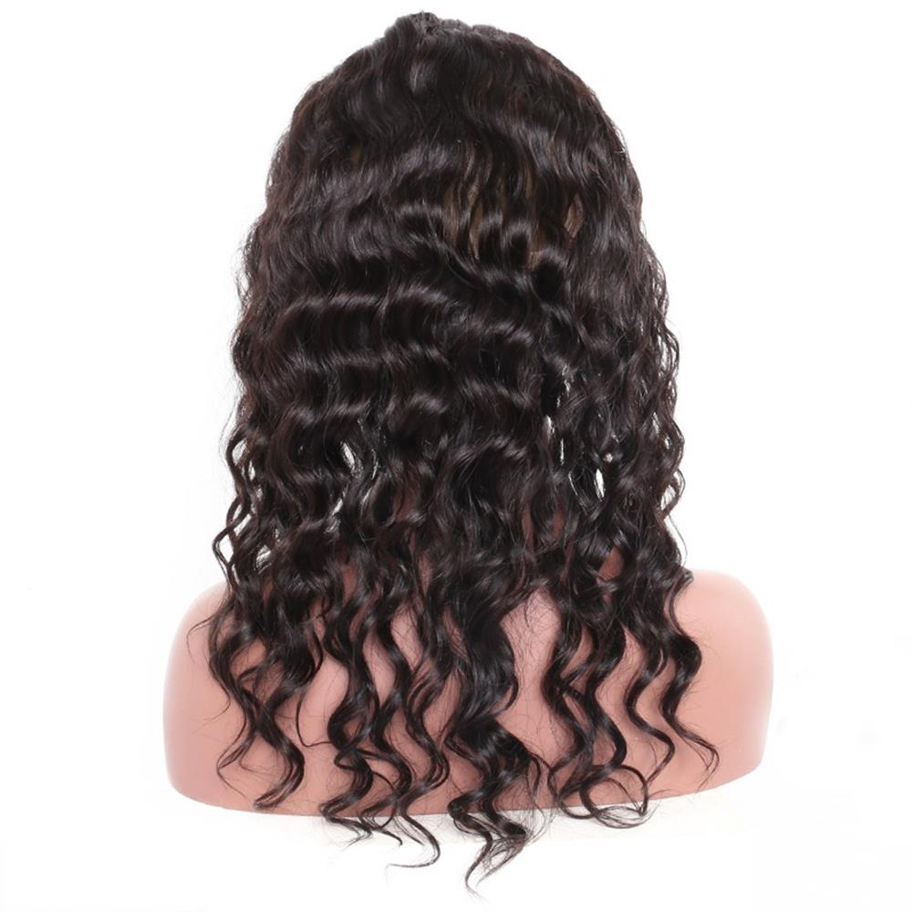 LETMESHINE 360 Lace Frontal Natural Color Loose Deep Wave 100% Virgin Human Hair - LetMeShine Hair