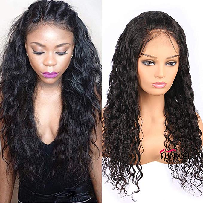 LETMESHINE FRONTAL LACE WIG NATURAL WAVE NATURAL COLOR GLUELESS 100% HUMAN HAIR WIG LACE FRONT 13*4 OR 13*6 - LetMeShine Hair
