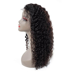LETMESHINE FRONTAL LACE WIG NATURAL WAVE NATURAL COLOR GLUELESS 100% HUMAN HAIR WIG LACE FRONT 13*4 OR 13*6