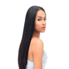LETMESHINE 1B Natural Color Straight Unprocessed Virgin Human Hair Weave Single Bundle - LetMeShine Hair