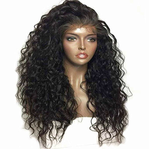 LETMESHINE FULL LACE WIG NATURAL WAVE NATURAL COLOR GLUELESS 100% HUMAN HAIR WIG - LetMeShine Hair