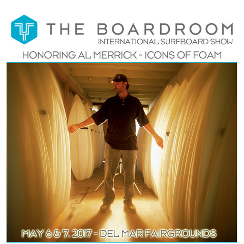 May 6th and 7th 2017 - Driftwood Caravan at the Boardroom Show in Del Mar, CA