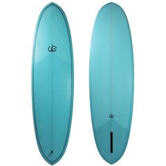 Double Ender Surfboard Light Blue  - Driftwood Caravan Surfboards