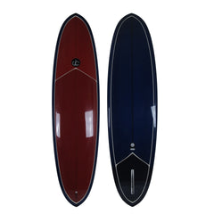 Double Ender Surfboard Single Fin - Driftwood Caravan Surfboards