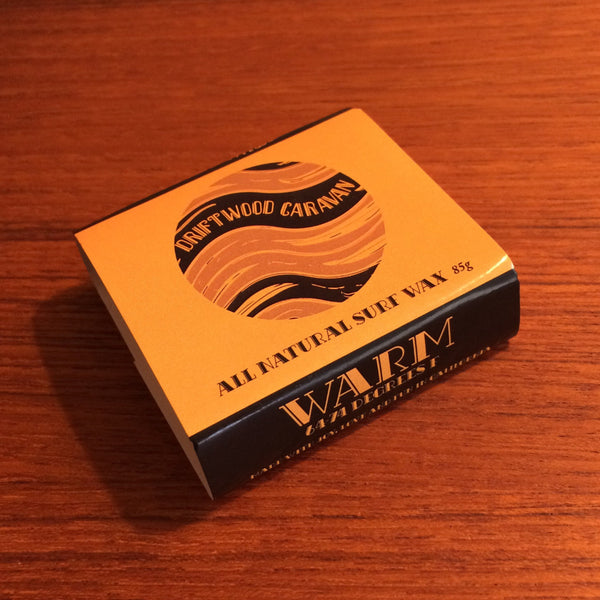 All Natural Surf Wax - Warm by Driftwood Caravan - Driftwood Caravan Surfboards - 2