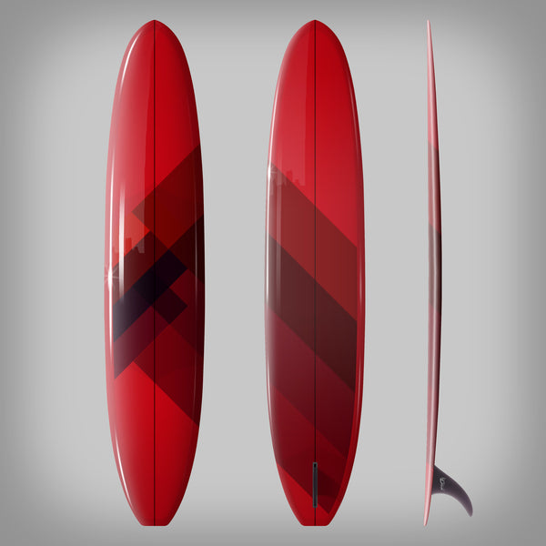 Custom Order Longboard 9'6 DC SAM - Driftwood Caravan x Surfing With Friends - Driftwood Caravan Surfboards - 4