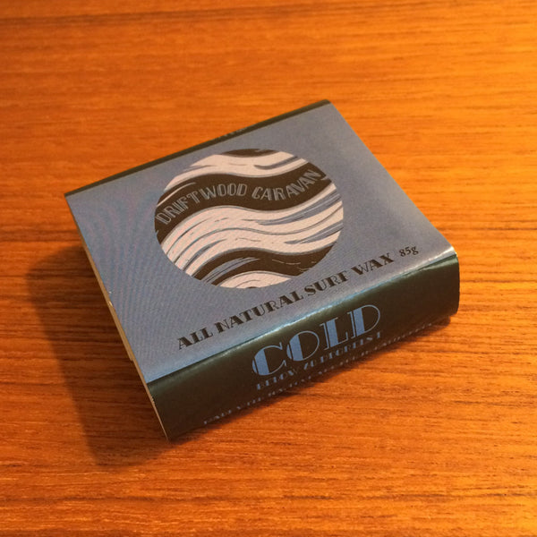 All Natural Surf Wax - Cold by Driftwood Caravan - Driftwood Caravan Surfboards