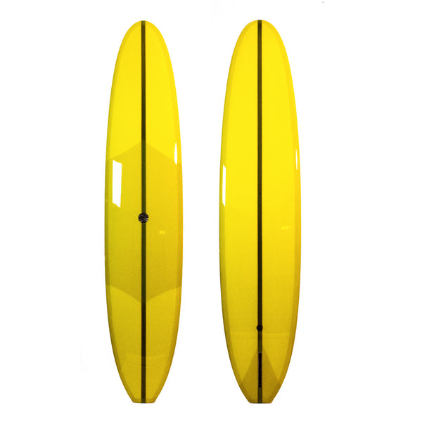 9'6 DC SAM - Mustard Yellow with Black HD Foam / Cedar Stringers - Driftwood Caravan - Driftwood Caravan Surfboards