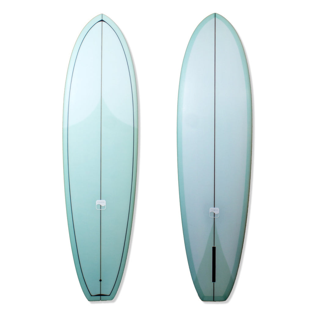 7'2 Mr. Style Transitional Singlefin Surfboard - Driftwood Caravan - Driftwood Caravan Surfboards