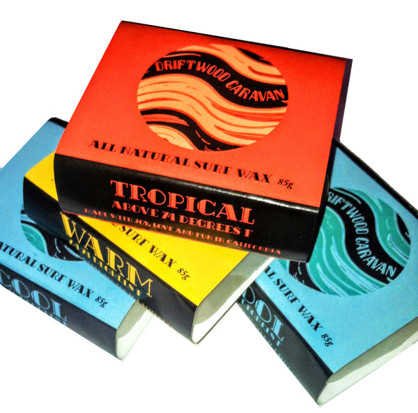 All Natural Surf Wax - Warm by Driftwood Caravan - Driftwood Caravan Surfboards - 5