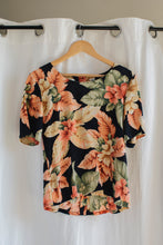 Load image into Gallery viewer, Silk Floral Blouse - S