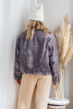 Load image into Gallery viewer, Vintage reworked Levi's Sherpa Jacket 03 - up to L
