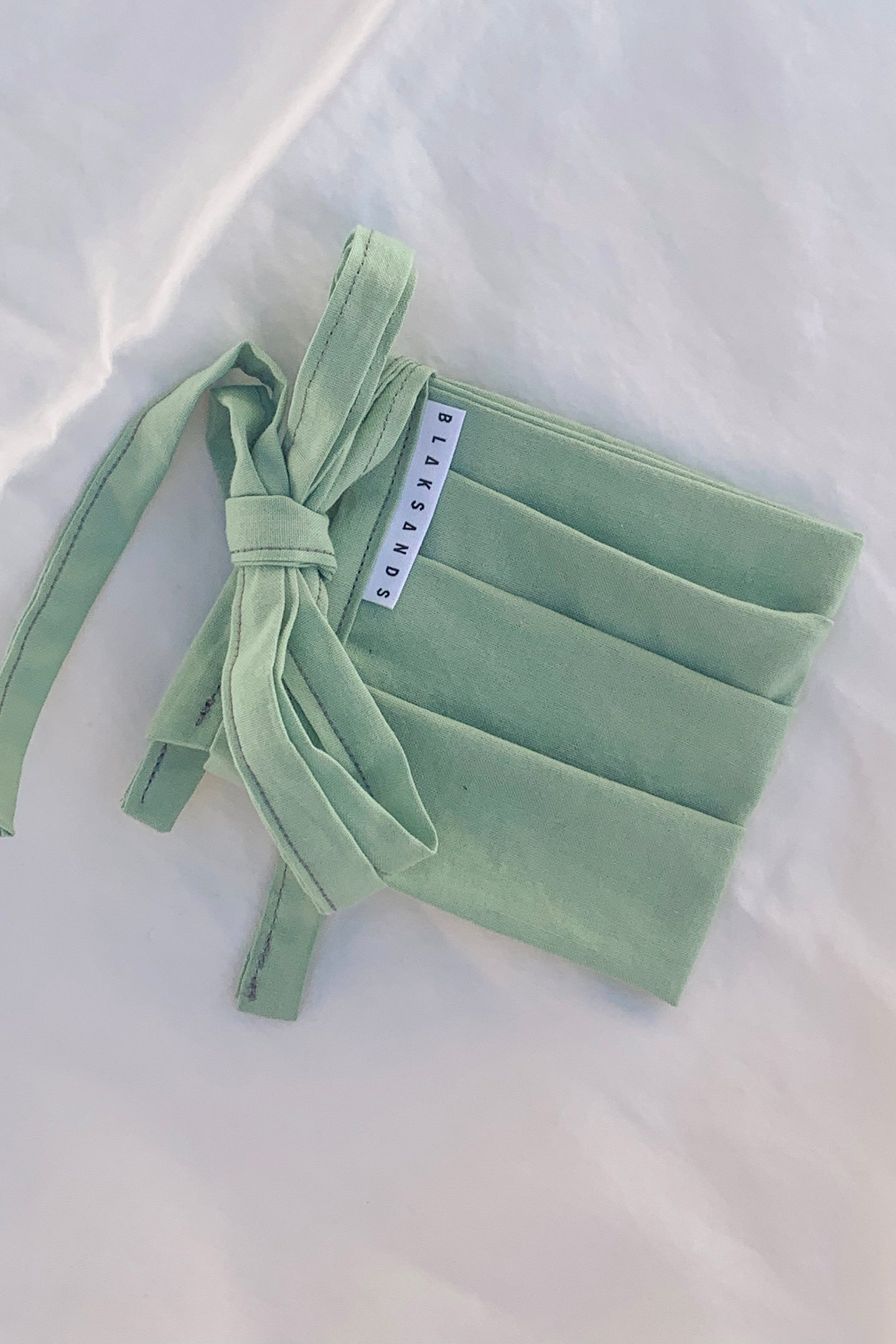 * PRE ORDER * Protective Cotton Mask - Seafoam Green