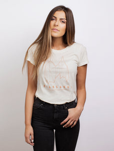 Women's Signature Logo Tee - Distressed