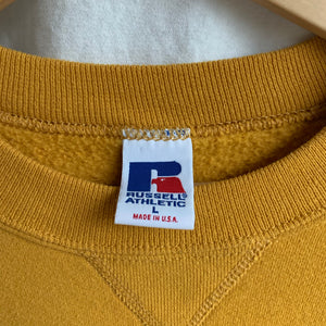 Vintage Sweatshirt in Golden - L