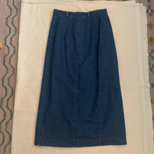Load image into Gallery viewer, Vintage Denim Skirt - M