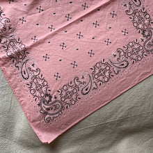 Load image into Gallery viewer, Vintage Bandana - Rose Quartz