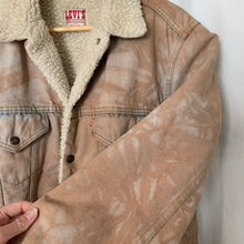 Load image into Gallery viewer, Vintage reworked Levi's Sherpa Jacket 04 - up to L