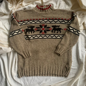 Vintage Holiday Sweater - XS/S