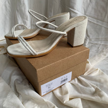 Load image into Gallery viewer, Alohas Monroe Mule in White - size 40 / 9