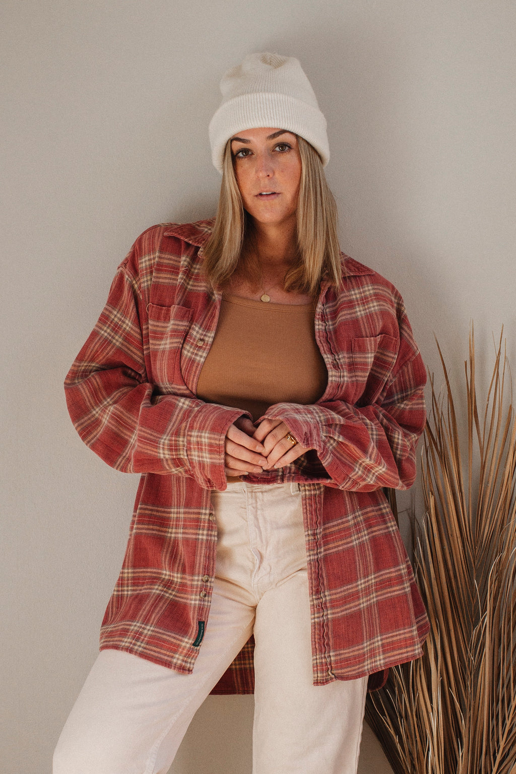 Faded Oversized Flannel