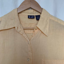 Load image into Gallery viewer, Vintage Linen Blouse - S