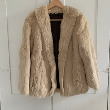 Load image into Gallery viewer, Vintage Fur Jacket - XS