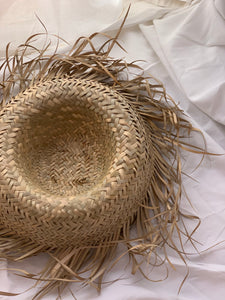 Vintage Mexican Straw Hat