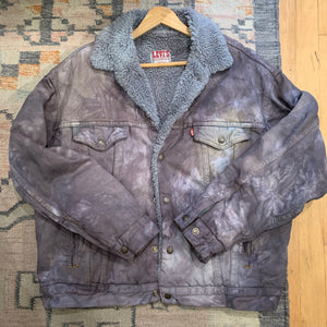 Vintage reworked Levi's Sherpa Jacket 03 - up to L