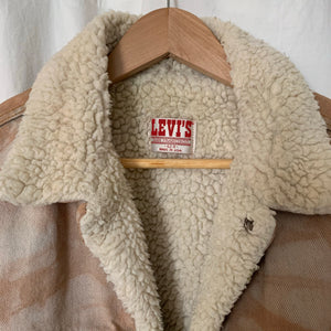 Vintage reworked Levi's Sherpa Jacket 04 - up to L