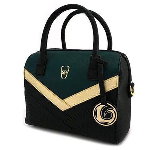 Loungelfy Marvel Thor Loki Duffle Purse Bag