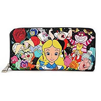Loungefly x Disney Alice Character Print Wallet