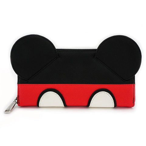 Loungefly x Mickey Suit Zip Around Wallet