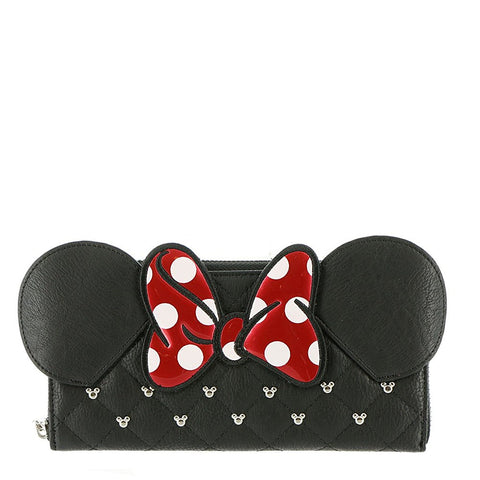 Loungefly Minnie Bow Zip Around Wallet