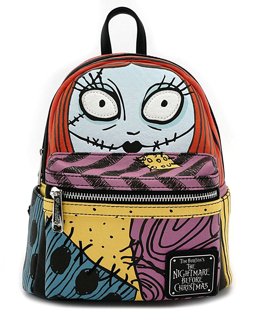 Loungefly x The Nightmare Before Christmas Sally Cosplay Faux ...