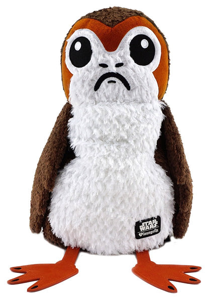 Loungefly x Star Wars: The Last Jedi Porg Plush Backpack