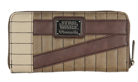 Star Wars The Last Jedi Rey Faux Leather Zip Around Wallet